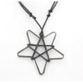 Star Pentagram Necklace - Corded Necklace