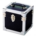 Steepletone  Black &  Silver  Seven  Inch  Record  Case -