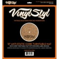 Vinyl Styl Cork Turntable Mat -