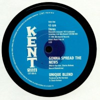 Unique Blend - Gonna Spread The News