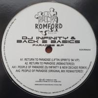 Dj Infinity & Back 2 Basics - Paradise Ep