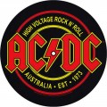 AC/DC - Two Turntable Slipmats