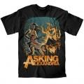 Asking Alexandria - Am I Insane Black T-Shirt XL