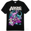 Asking Alexandria - Devour Black T-Shirt Large