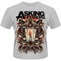 Asking  Alexandria  Candle  T  Shirt  Medium -