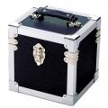 Steepletone Black & Silver Seven Inch Record Case -