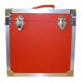 Steepletone Red & Silver Twelve Inch Record Case -
