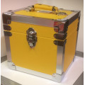 Steepletone Yellow & Silver Seven Inch Record Case -